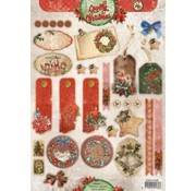 Bilder, 3D Bilder und ausgestanzte Teile usw... Die cut ark: Vintage julen