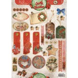 Bilder, 3D Bilder und ausgestanzte Teile usw... Die losse vellen: Uitstekende Kerstmis