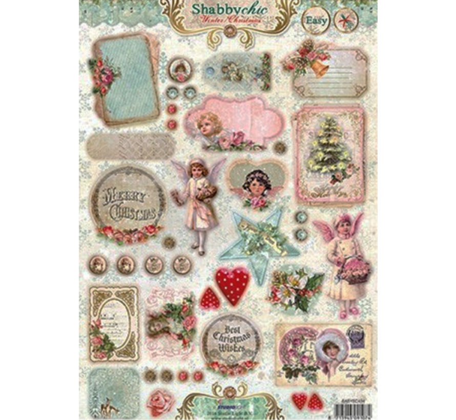 Die Cut Vintage Christmas Shabby Chic Hobby Crafts24 Eu English