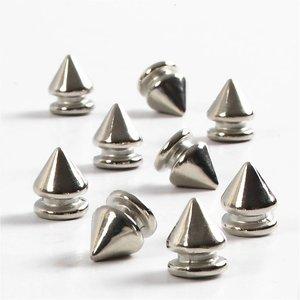 Embellishments / Verzierungen 8 Mini Füsschen, D: 8 mm, 10 mm H