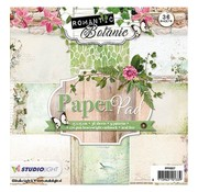 Karten und Scrapbooking Papier, Papier blöcke Designersblock 15,5 x 15,5 centimetri: Romantico Botanico
