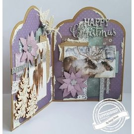 Studio Light Die cut: Sweet Winter Season, A4, 170grs.