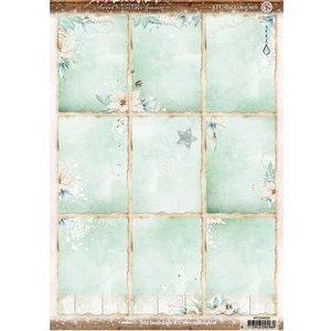 Studio Light Die cut, A4: Sweet Winter Season, with 9 pre-cut labels, 170 grs