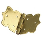 Embellishments / Verzierungen Decorative hinges gold, size: 20x37 mm, 4 pieces
