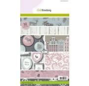 Karten und Scrapbooking Papier, Papier blöcke Designersblock, A5, Woods invernali
