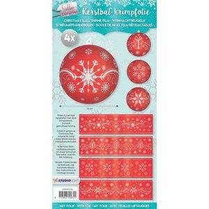 BANDEROLEN, Schrumpffolien 4 krimpbanden voor ballen met een diameter van 8 cm