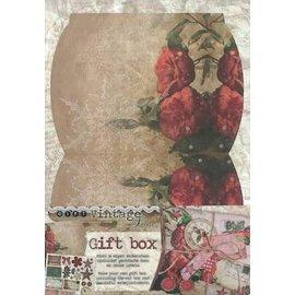 BASTELSETS / CRAFT KITS Die losse vellen, A4, met inbegrip van het ontwerp van een geschenkdoos. Ornamenten