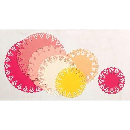 Circle Starter Set, basteln mit Papier, scrapbook und Karten gestalten. von Martha Stewart, Basis Kreisbordürenstanzer und Zubehör