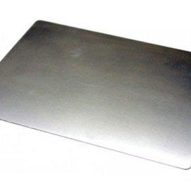 MASCHINE und ZUBEHÖR Plaque de métal (plaque de cale), taille: A4 Cette plaque crée une pression supplémentaire pour les motifs de poinçonnage en filigrane.