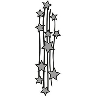 Marianne Design Taglio di stampi a rilievo: stelle cadenti