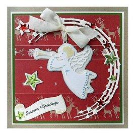 Marianne Design stampi di taglio: Stars in semicerchio