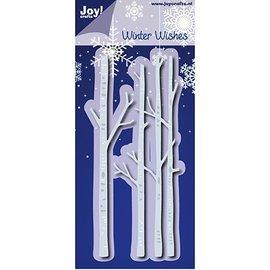 Joy!Crafts / Jeanine´s Art, Hobby Solutions Dies /  Skæring og prægning dør: Vinter Wishes - Birche