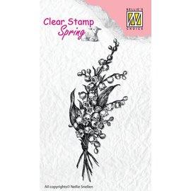 Nellie Snellen Transparentes / Borrar sello: Ramo de la primavera