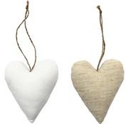 BASTELSETS / CRAFT KITS figure tessili, dimensione 8x9,5 cm, spessore: 3 cm, cuore