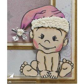 Stempel / Stamp: Transparent Timbre transparent: ours en peluche, bébé et ours de Noël