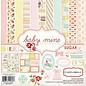 Carta Bella / Echo Park / Classica Designersblock: Baby Mine Girl Collection Kit van Carta Bella