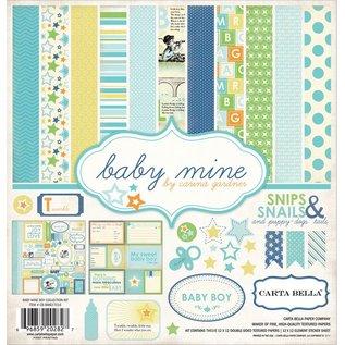 """Carta Bella / Echo Park / Classica Designersblock: Baby Mine """"Boy"""" Collection Kit van Carta Bella"""