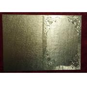 KARTEN und Zubehör / Cards Dual kort i stor metallisk effekt