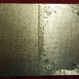 KARTEN und Zubehör / Cards Double cards in great metallic effect