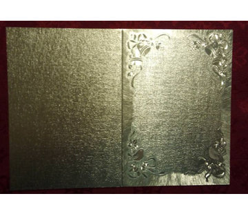KARTEN und Zubehör / Cards cartes double en grand effet métallique
