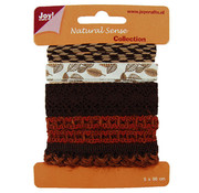 Joy!Crafts / Jeanine´s Art, Hobby Solutions Dies /  Ribbons natural scythe, ribbons set