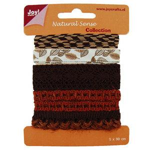 Joy!Crafts / Jeanine´s Art, Hobby Solutions Dies /  Ribbons Natural sense, Ribbons set