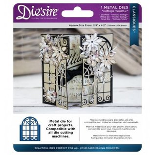 Die'sire Punching and embossing template: Cottage Window