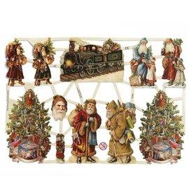 Bilder, 3D Bilder und ausgestanzte Teile usw... Album-souvenir, 11 Christmas Theme