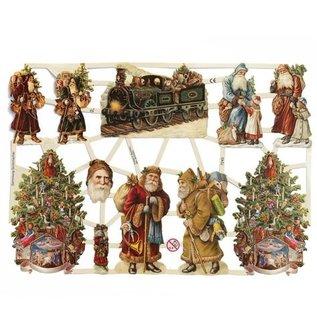 Bilder, 3D Bilder und ausgestanzte Teile usw... Kladjes, 11 Kerstthema