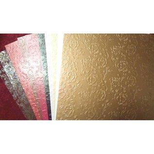 """Karten und Scrapbooking Papier, Papier blöcke vormige kartonnen range """"Rose karton"""""""