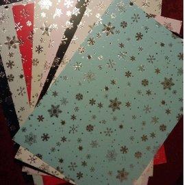Karten und Scrapbooking Papier, Papier blöcke Cartón surtido de navidad