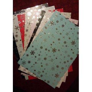 Karten und Scrapbooking Papier, Papier blöcke Carton assortiment kerst