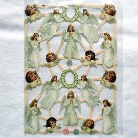 Bilder, 3D Bilder und ausgestanzte Teile usw... Ritagli con 16 angeli