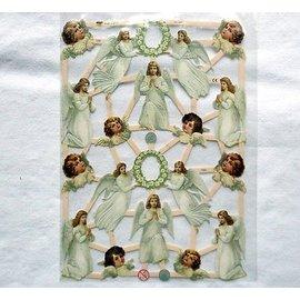 Bilder, 3D Bilder und ausgestanzte Teile usw... Glanzbilder mit 16 Engel