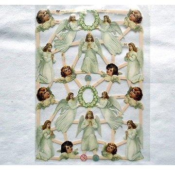 Bilder, 3D Bilder und ausgestanzte Teile usw... Album-souvenir avec 16 anges
