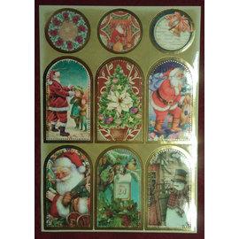 STICKER / AUTOCOLLANT Stickerbogen mit tolle Weihnachtsbilder!