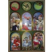 Sticker Stickervel met geweldige kerst foto's!