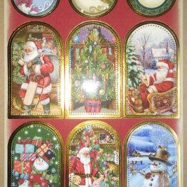Sticker foglio adesivo con grandi immagini di Natale!