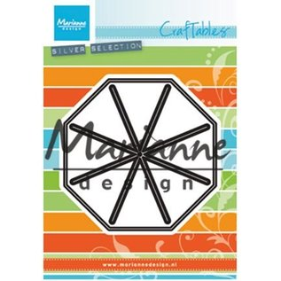 Marianne Design Punching templates: Open star fold