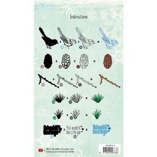Marianne Design timbre en couches, le format A5