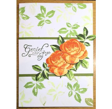 Marianne Design 50% discount! Layered stamp, A6 format