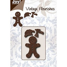 Joy!Crafts / Jeanine´s Art, Hobby Solutions Dies /  stampi di taglio: i maschi Gingerbread