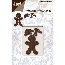 Joy!Crafts / Jeanine´s Art, Hobby Solutions Dies /  troqueles de corte: machos de pan de jengibre