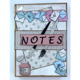 Joy!Crafts / Jeanine´s Art, Hobby Solutions Dies /  meurt coupe: brosse, stylo, enveloppes et lettres