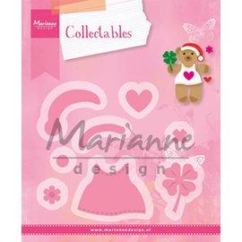 Marianne Design Stencils: Bear accessoiries