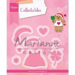 Marianne Design Cutting dies: Bear accessoiries