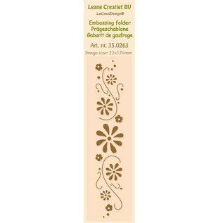 Leane Creatief - Lea'bilities und By Lene Embossing Folder, 24 x 122 cm