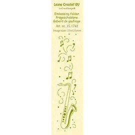Leane Creatief - Lea'bilities und By Lene Embossing Folder, Format 24 x 122 cm