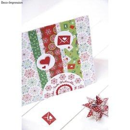 "Stempel / Stamp: Holz / Wood 20% KORTING! Mini houten stempel set ""Winter Wonderland"""