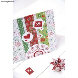 "Stempel / Stamp: Holz / Wood 20% KORTING! Mini houten stempel set ""Winter Wonderland"""